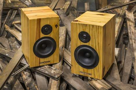 American-Made Sound Systems - The Detroit Audio Lab Speakers are Handcrafted in Michigan