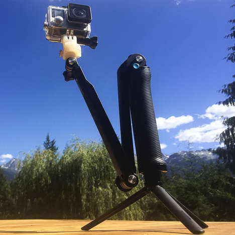 Angled Camera Mounts - The 360 Quick Connect Permits Mounting from 1º to 360º