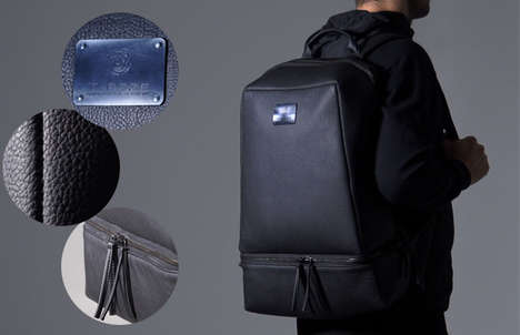 Compartmentalized Luxury Bags - This Urban Bag Has Ample Space for Various Travel Necessities