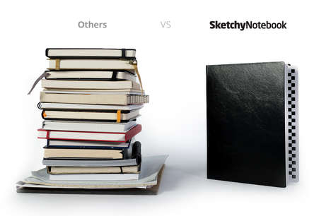 All-in-One Notebooks - The 'SketchyNotebook' is a Must-Have for Designers, Journalists and Artists