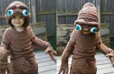 This Convincing ET Costume Was Custom-Knitted in Just Four Days