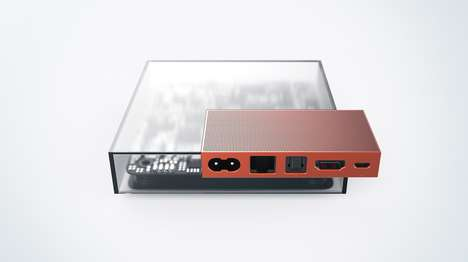Sleek Set-Top Boxes - The I/O Set-Top Box Breaks the Mold of Boring Black Electronic Casings
