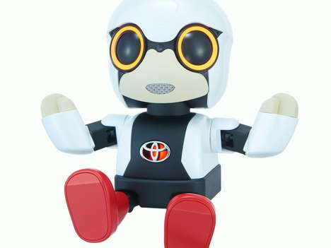 AI Robot Companions - The Kirobo Toyota Robot Was Designed to Tackle Loneliness in Japan