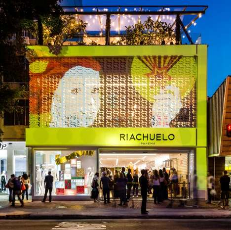Nature-Themed Clothing Stores - The New Riachuelo Flagship Store Was Designed to Be Eco-Friendly