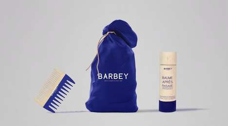 Bristly Shave Kit Branding - Barbey Cosmetics Packaging Was Inspired by Mens' Beards
