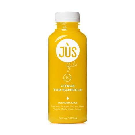 Dessert-Inspired Citrus Juices - This Juice Drink Puts a Healthy Spin on Creamsicle Flavors