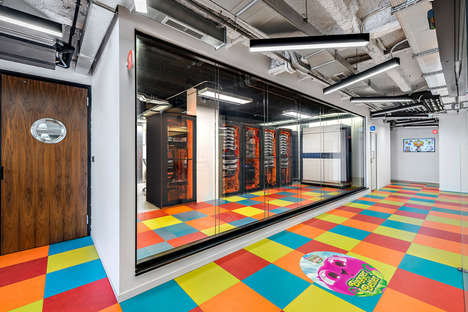 Playful Game-Developing Offices - This Office Space Features Vibrant and Eclectic Designs
