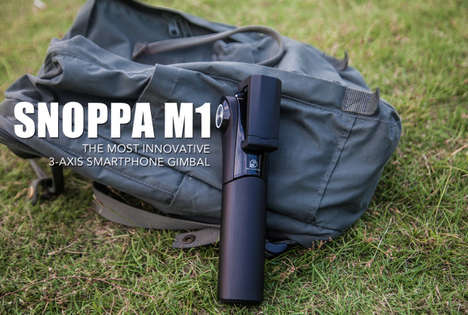 Professional Smartphone Gimbals - The Snoppa M1 3-Axis Smartphone Gimbal Enables Seamless Footage