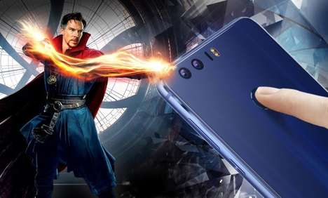 Superhero Limited-Edition Smartphones - The Honor 8 Doctor Strange Smartphone is Marvel-Approved