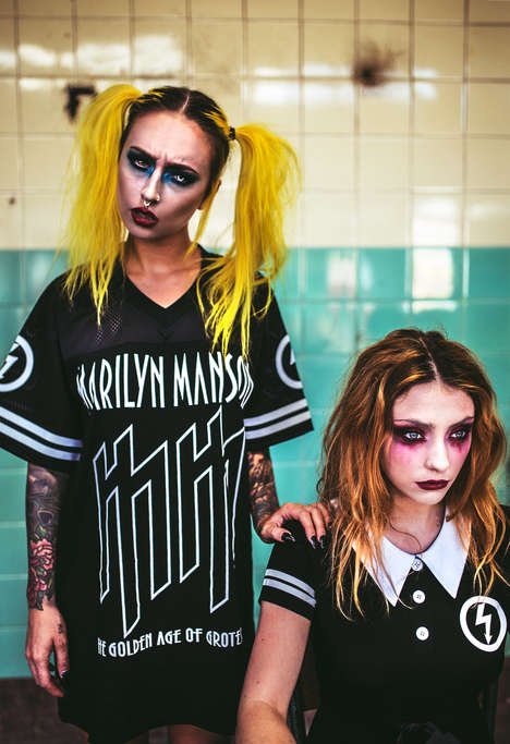 Macabre Streetwear Collections - KILLSTAR and Marilyn Manson are Launching a Clothing Collaboration