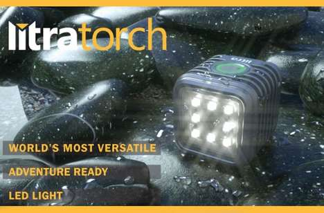 Action Camera LED Lights - The 'LitraTorch' LED Lighting System is Designed Especially for the GoPro