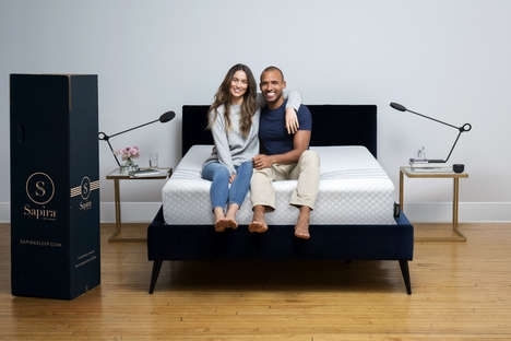 Folding Spring Mattresses - Sapira Makes Spring Mattresses that Can Still be Delivered in Boxes