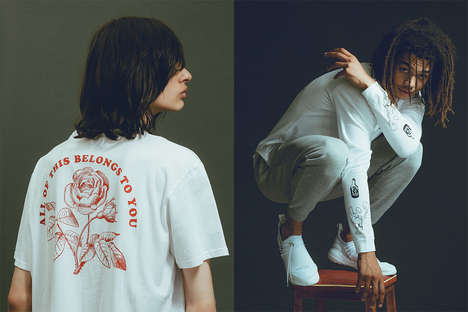 Futuristic Youth Streetwear - This Edwin Clothing Editorial Notes the Next Generation's Impact