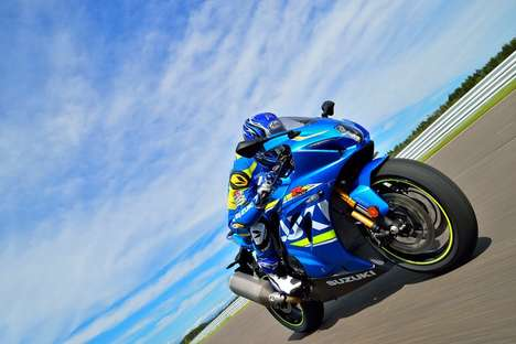 Monstrously Competitive Superbikes - The Suzuki GSX-R1000 is Designed For Extreme Racing Dominance