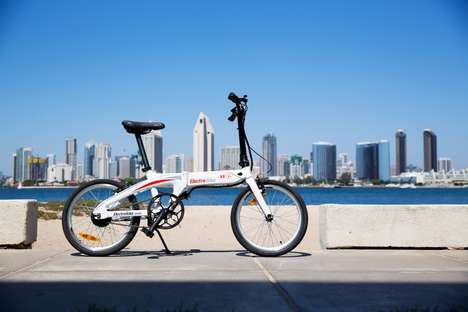 Flawless Folding E-Bikes - The Air-33 E-Bike Combines Portability With Boosted Electric Power