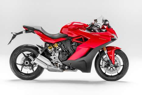 Revived Sports Motorbikes - Ducati's New Offering is Its First SuperSport Bike In Nearly a Decade