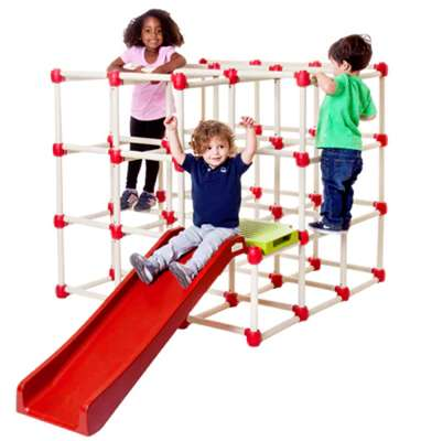 Collapsible Jungle Gyms - This Children's Playground Can be Set Up Indoors or Outdoors