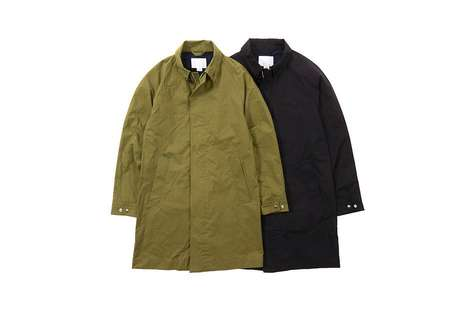 Refined Performance Wear - These NORTH FACE Jackets Were Made in Collaboration with nanamica