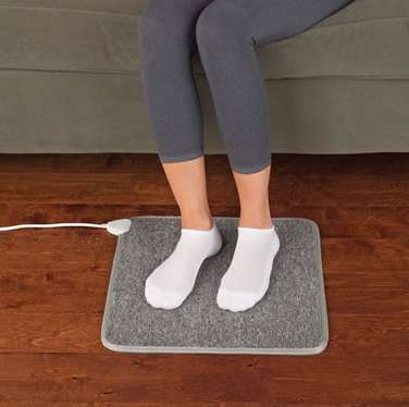 Heated Foot Mats - These Mats Aim to Boost Comfort and Circulation