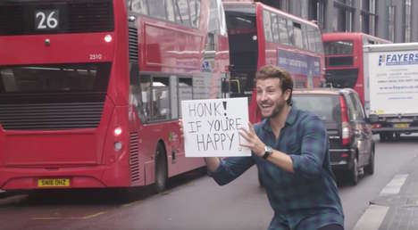 Feel-Good Social Experiments - The Berry Company Took to the Streets to Inspire a #BerryGoodDay