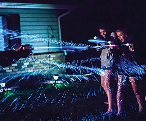 Bioluminescence Water Guns - The SplashLight Makes Water Glow as it's Fired at Opponents