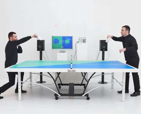 Rhythmic Ping Pong Games