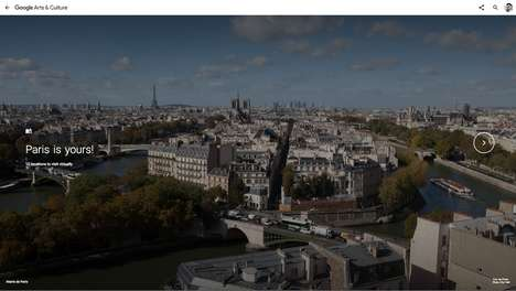 Parisian Exploration Series - Google's Curio-cite Explores the Hidden Marvels of Paris