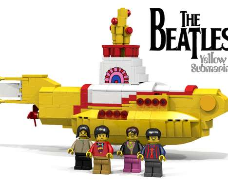 Pop Band LEGO Models