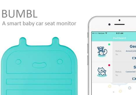 Car Baby Seat Monitors - 'Bumbl' Keeps Track of When Kids are in the Car to Keep Them Safe