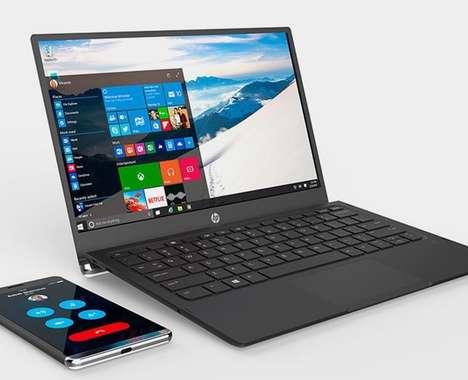 Smartphone-Powered Laptops