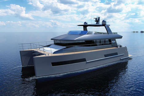 Luxury Dual-Hull Catamarans - The Baikal 16 Catamaran Yacht Boat Features Exquisite Appointments