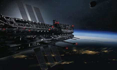 Outer Space Earthling Colonies - The Asgardia Space Nation Will Provide Living Quarters in Space