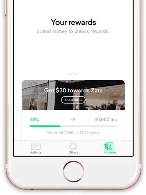 Financial Reward Systems - The 'Drop' App Gives Users Points Based on Their Purchases