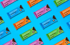 Protein-Infused Chocolate Bars - 'Cocoa Plus' Uses Simple Branding to Convey Its Message