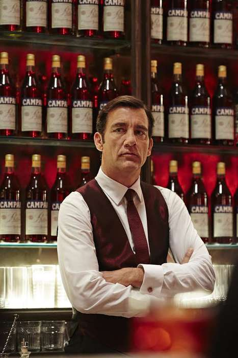 Branded Cocktail Campaigns - 'Campari Red Diaries' Contains 12 Stories and Features Clive Owen