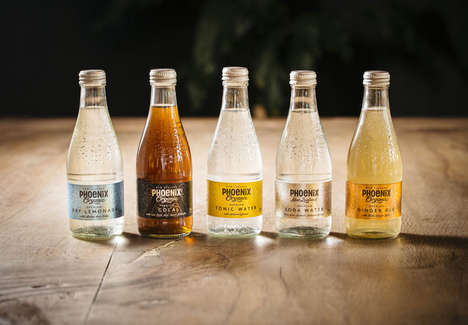 Organic Carbonated Drinks - These Classic Sodas Have a Very Distinctive Feature