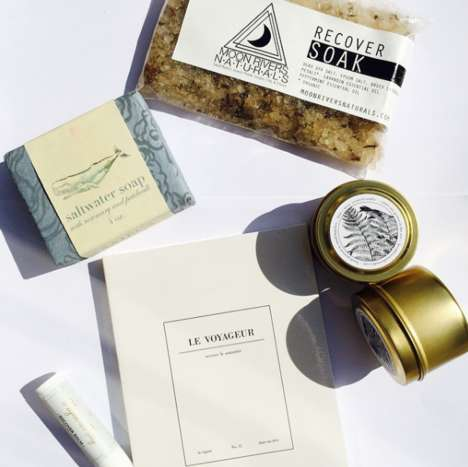 Wellness-Focused Travel Kits - Bird & Anchor Curates Natural Beauty Wellness Kits for Travelers