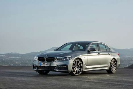 Semi-Autonomous Sedans - BMW's New Sedan Features Automatic Steering, Braking and Speed-Shifting