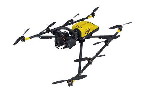 Water-Resistant Commercial Drones - The Falcon 8+ is Designed For Industrial Mapping Applications