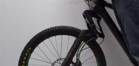 Fall-Reducing Bicycle Accessories - This Bicycle Fork Helps Reduce Brake-Induced Diving Incidents