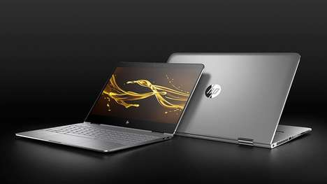 Rapid-Charging Laptops - HP's New Laptop Has An Ultra Fast-Charging Battery and Durable Structure