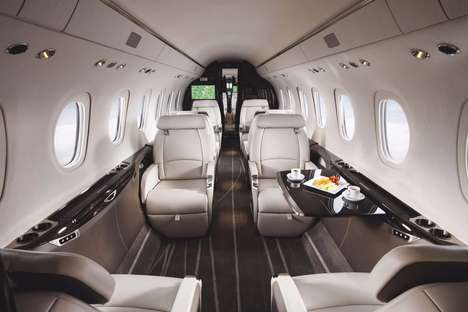 Futuristic Business Aircraft - The Cessna Longitude Offers Hyper-Comfortable Business Travel