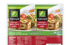 Two-In-One Tofu Packets - Nasoya is Now Offering Side-by-Side Tofu Blocks in Separated Packs