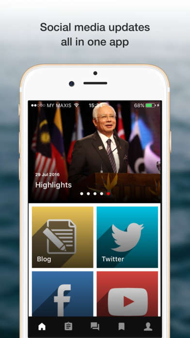 Connective Politician Apps - This App Lets the Malaysian Prime Minister Connect With the Public
