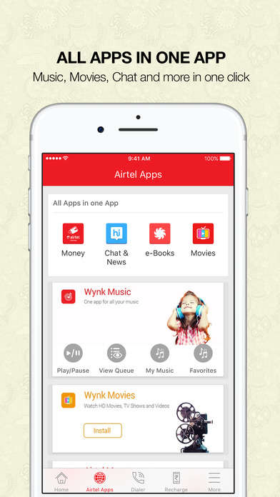 Consolidated Telecom Apps - The MyAirtel App Offers All-Inclusive Service to Indian Telecom Users