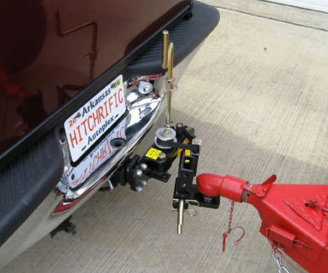 Precision Vehicle Hitches - The 'Reel-Quik Hitch' Simplifies the Experience of Hitching Trailers