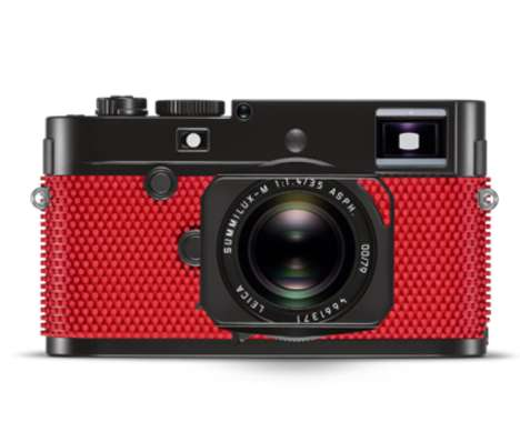 Rubberized Professional Cameras