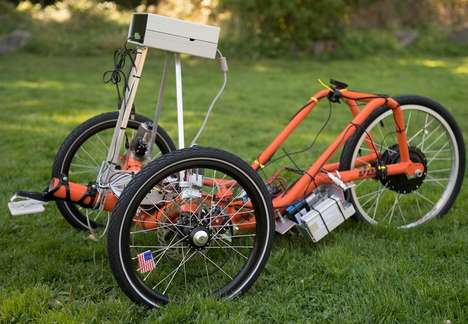 Autonomous Tricycle Bikes - This Autonomous Self-Driving Trike Makes Use of an Arduino Processor