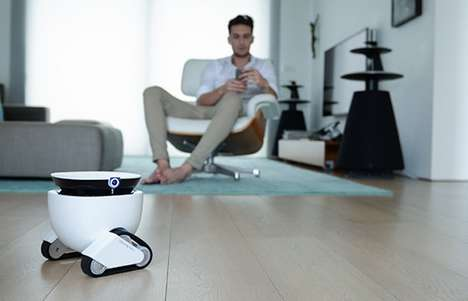 Home Security Companion Robots - The 'Roboming Fellow' Roving Robot is for the Home or Office