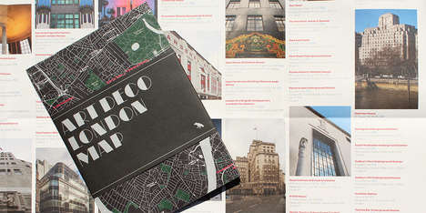 Architectural Style Maps - Blue Crowe Media's Maps are Guides to Architectural Styles Around Cities